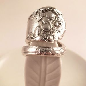 Hand made spoon ring